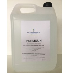 Premuun desinfecterende home & office reiniger 5 liter navul can